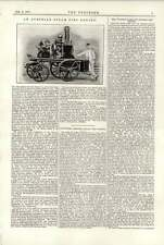 1891 vienne fire engine steamer william Thursfield