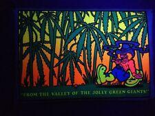 From Valley Of Green Giants Barry Lynn Hanson Saladin Blacklight Poster 1972