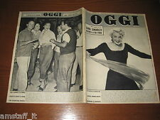 OGGI 1955/5=SHEREE NORTH=COSETTA GRECO=DOROTHY DANDRIDGE=PAUL NEWMAN=