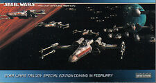 STAR WARS TRILOGY SPECIAL EDITION PROMOTIONAL CARD P3