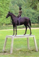 Postkarte: Reiter und Pferd - Stephan Balkenhol, 1986 - Skulptur