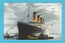 SHIPPING  -  JF  SPORTING  COLLECTIBLES  POSTCARD  -  SHIPPING  -  THE  TITANIC