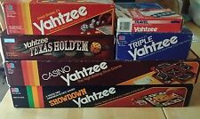 Yahtzee 6 game lot! Casino - Showdown - Hold'em - Original - Triple - Travel