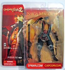 Saiga Magoichi McFarlane Action Figure, Onimusha 2, 2002 Capcom, New in Package!