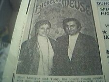 news item 1973 sydney australia monique tony le rive gauche french restaurant