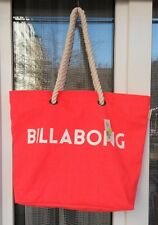 NEU Billabong Frauen Tasche Essential Bag Beach Neon Orange Strandtasche
