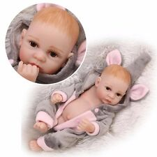 "CHEAP 11"" Handmade Real Looking Newborn Baby Boy Vinyl Silicone Realistic Reborn"
