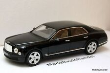 BENTLEY MULSANNE  - BLACK   -  1:18 RASTAR