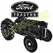 Ford Tractor dxf cnc files plasma laser clipart plasmacam
