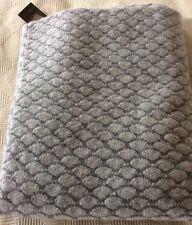 BNWT OYUNA IMAIA Cashmere Throw  in soft grey 180 cm X 120 cm  £899