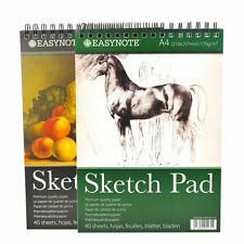 A4 Artist Sketch - Drawing Book Pad 40 Sheets 170 gsm Sketching Paper