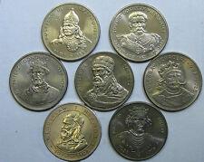 POLAND  7 coins  50  zł  1979 - 1983   Polish Kings