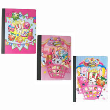 SHOPKINS FOOD School 2 Composition Book Notebook 50 sheets Books NEW