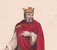 Chilpéric Ier  roi des Francs Mérovingien