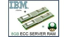 8GB (2x4GB) Memory Ram Upgrade for IBM System Server x3400, x3450 & x3650