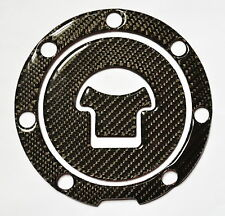 REAL CARBON FIBER GAS CAP COVER FOR HONDA CB600F CB600 F S HORNET TRIM STICKER