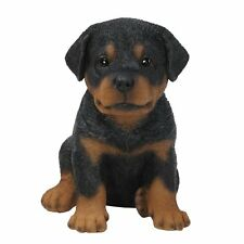 BRAND NEW ROTTWEILER PUPPY GARDEN ORNAMENT