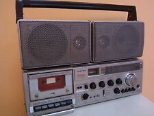 VINTAGE RADIO - CASSETTE PLAYER/RECORDER TOSHIBA RT-8740SW