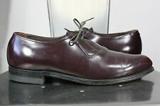 Chippewa Falls Mason shoes 9.5 D vintage mint red-brown pointed toe oxfords