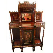 Antique Cabinet, Aesthetic Movement c 1880 #6152