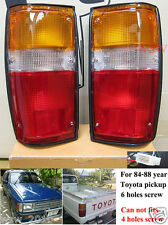 Tail Rear Lamp Light fits 84-88 Toyota Hilux Pickup Ute Truck LN50 RN50 65 85 86