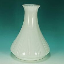 Original Old White Milk Glass Angle Lamp Shade for Antique Oil Kerosene Lamp