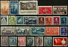 ROMANIA, SELECTION OF 25 OLD DIFFERENT, ALL IN PERFECT CONDITON