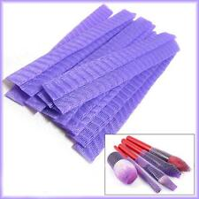 10 pcs Violet Make Up Brush Netting - Guard Cover - Mesh Sheath Protectors!