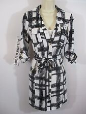 NWT BEBE ESME PRINTED SHIRT DRESS SIZE M So sexy, Sure to turn heads!! $160