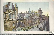 London Law Courts 1900s?? Unposted Postcard