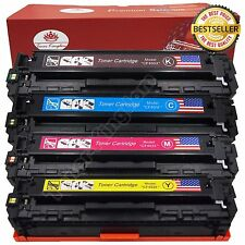 4PK High Yield Toner CF400X 201X Black Color Set For HP Laserjet Pro M277dw M252
