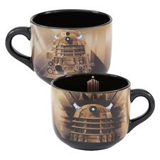 16053 Doctor Who Dalek Tardis Logo 20oz Soup Mug Coffee Cup BBC Villain Robot