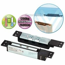 Access Control Electric Magnetic Door Shear Lock Time Delay Holding Force 1200KG
