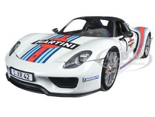 2013 PORSCHE 918 SPYDER MARTINI WEISSACH #1 LTD 1/18 BY MINICHAMPS 110062440