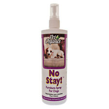NaturVet Pet Organics No Stay Dog Cat Furniture Spray Effective Training Aid 16z