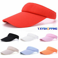 Sports Sun Visor Unisex Men Women Hat Sports Tennis Golf Adjustable Headband Cap