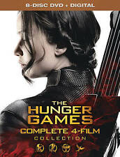 THE HUNGER GAMES - COMPLETE 4-FILM COLLECTION - DVD SET