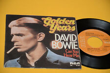 "DAVID BOWIE 7"" 45 CAN YOU HEAR ME 1°ST ORIG ITALY 1976 EX++ TOP COLLECTORS"
