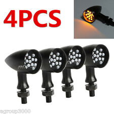 4x Black LED Turn Signal Lights for Yamaha XVZ Royal Star Venture Classic Royale