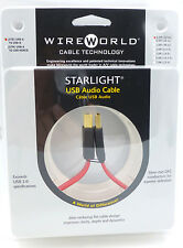WireWorld StarLight USB 0.3 meter USB A-B Wire World