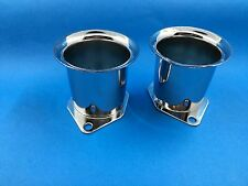 "New Velocity Stacks 2 1/4"" 40mm Or 44mm 48mm IDF  for EMPI/WEBER pair"