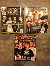 Life Story 5 Five Seconds of Summer 5SOS - 3 MagazinesvNEW