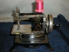 Vintage Childs 1940's-50's Hand Crank Toy Sewing Machine (made in Germany)