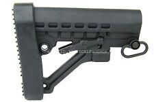 Mil Style Reinforced Polymer A-Frame Adjustable Shoulder Support w/QD & Buttpad