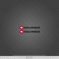 0117 Columbus Bicycle Chainstay Stickers - Decals - Transfers - Black