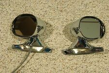 CHROME 1971-74 Mopar E Body Outside Mirrors dodge challenger barracuda charger