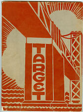 1937 Willard Junior High School, Berkeley, California, Target Yearbook