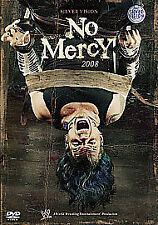 WWE No Mercy 2008 ( New Sealed dvd ) Rare Deleted Silvervision ( WWF )