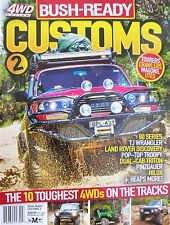 4WD Action Bush Ready Customs Magazine No 2 - The 10 Toughest 4WDs On The Tracks