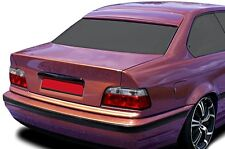 BMW E36 Coupe Euro M M3 Roof Extension Rear Window Cover Spoiler Wing Trim ABS